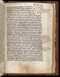 William of Conches, 'Tract on Philosophy and Man', in an Astronomical Miscellany f.111r